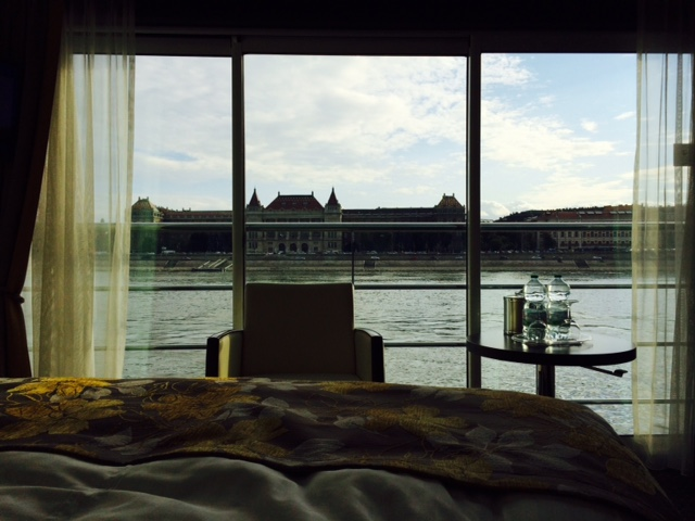 Jen Budapest View from Bed